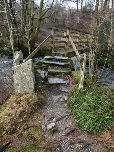 Footbridge over Trout Beck