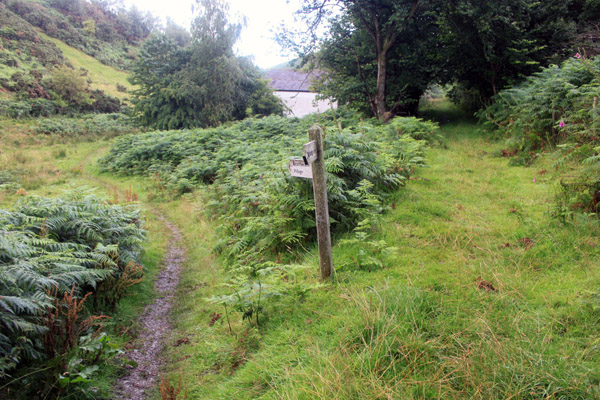Footpath from Hope Camp