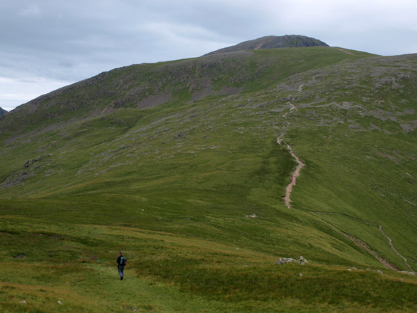 Ridge path to Green Gable