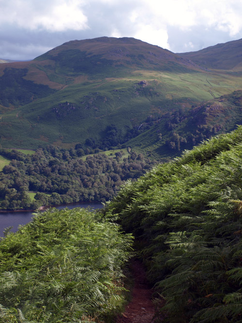View across Ullswater form Gowbarrow Park