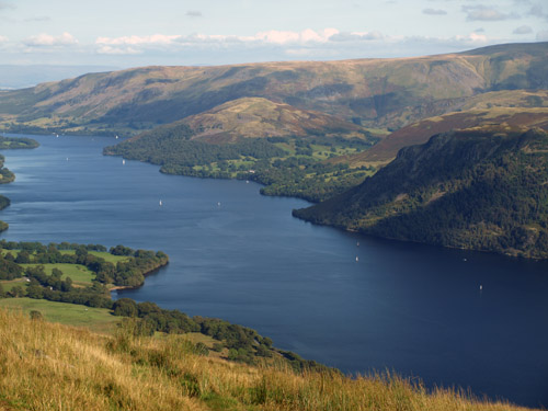 Ullswater from near the brow of Swine Knott
