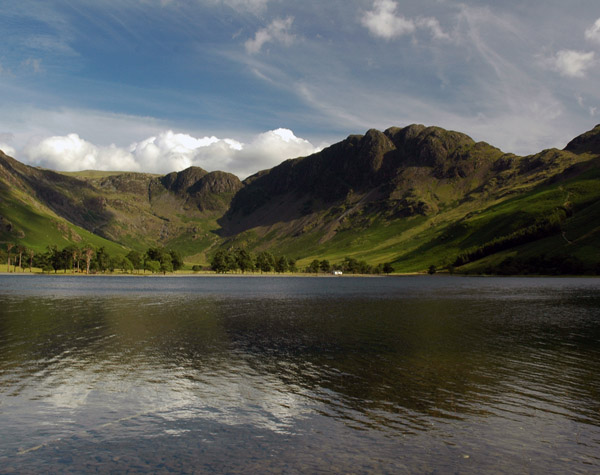 Haystacks across Buttermere