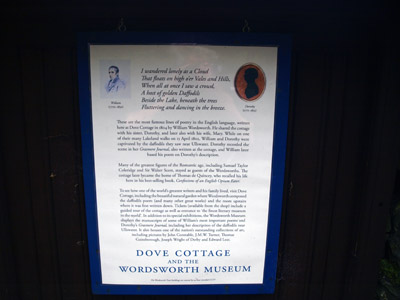 Wordsworth Trust notice