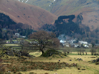 Grasmere vale from Underhelm