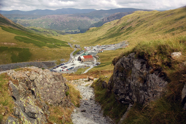 Incline to Honister Hause