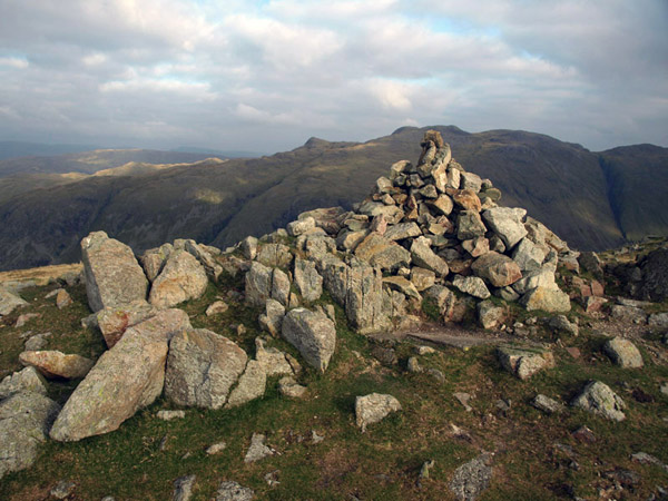 Summit cairn BB