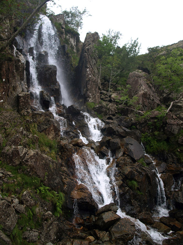 Sour Milk Gill upper falls