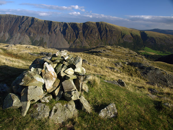 B summit cairn