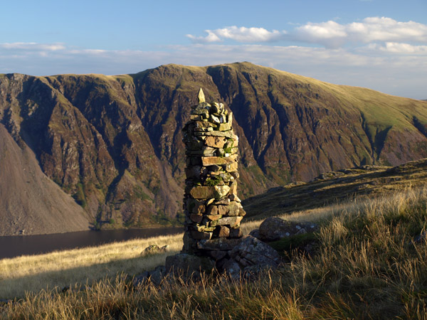 Joss Naylor's cairn