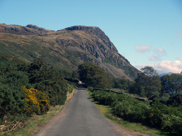 Buckbarrow from the the valley road