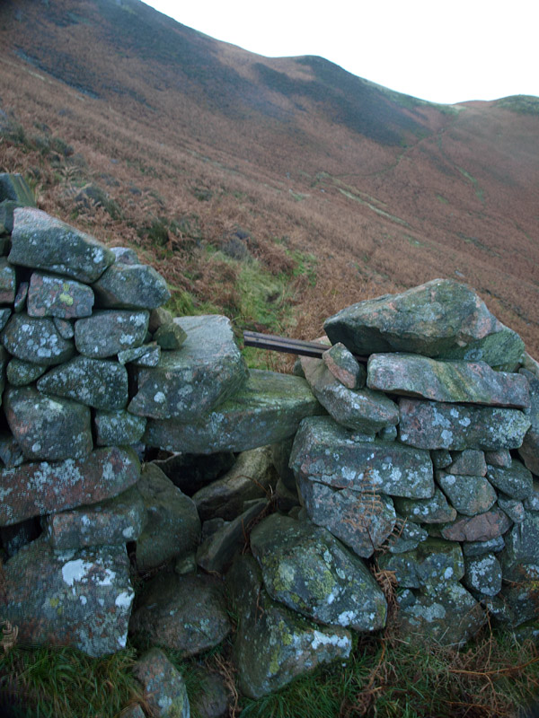 Miners path stile