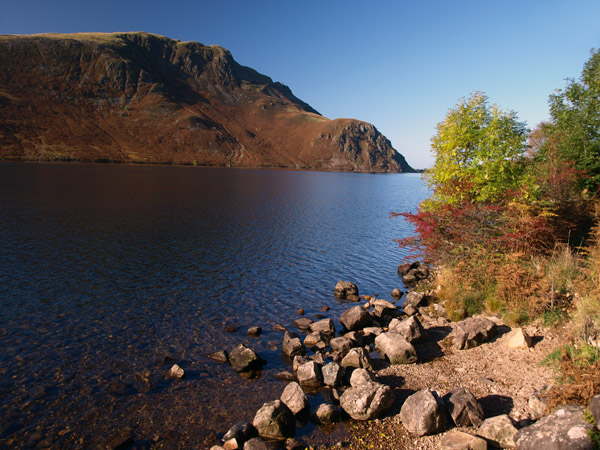 Crag Fell from across Ennerdale Water