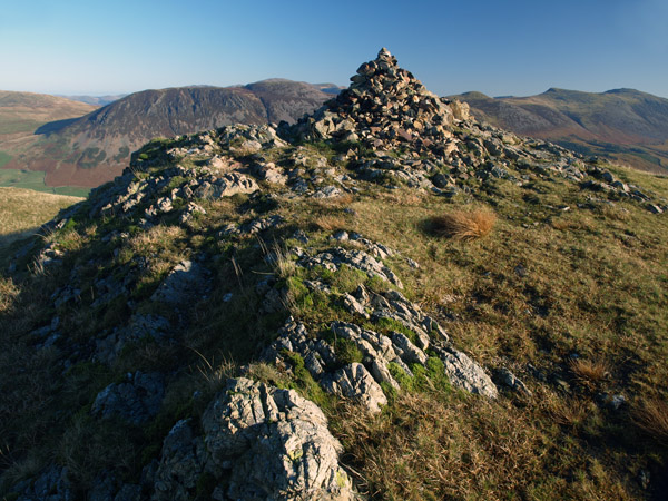 Summit of Crag Fell
