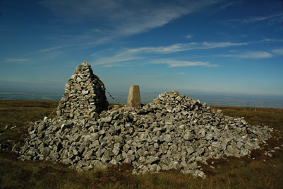 summit of Cold Fell
