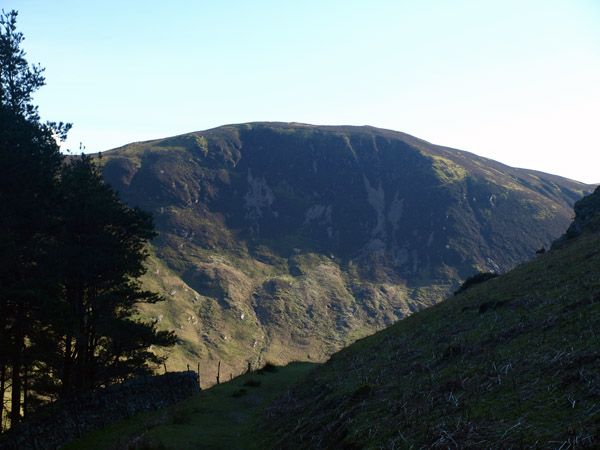Black Crag from the edge of Holme Wood