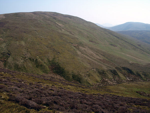 Western aspect of the fell