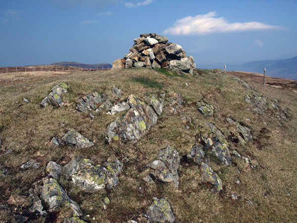Summit cairn of Gavel