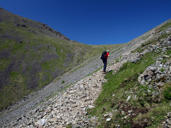 Climbing to Beck Head