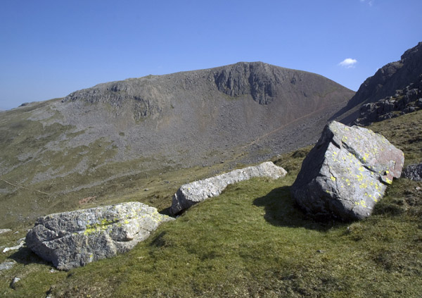 Green Gable from the shoulder of Great Gable