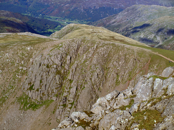 Green Gable from the top of Gable Crag