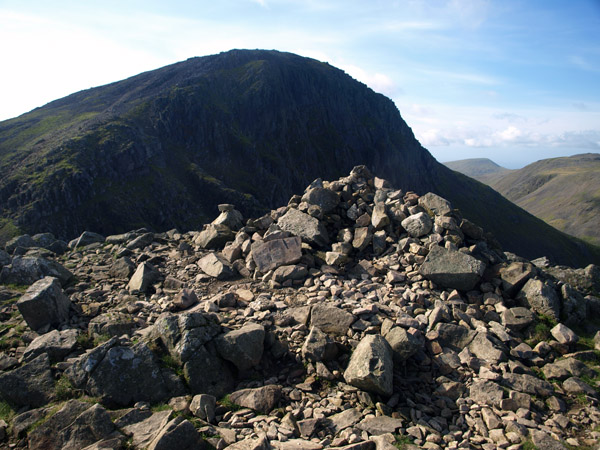 summit cairn of Green Gable