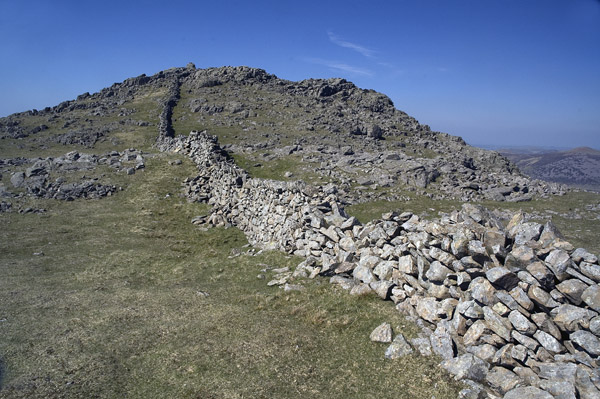 Wall on Little Gowder Crag