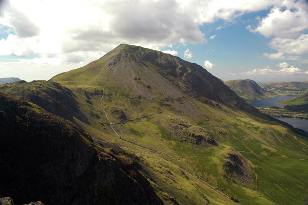 High Crag from Haystacks