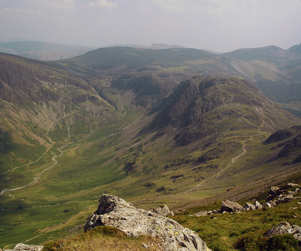 Haystacks from the north ridge