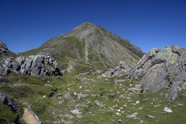 High Crag from Seat