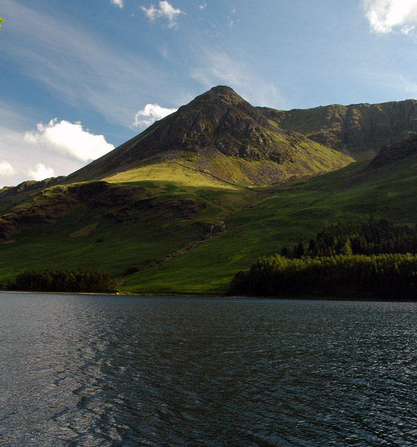High Crag from Hassness