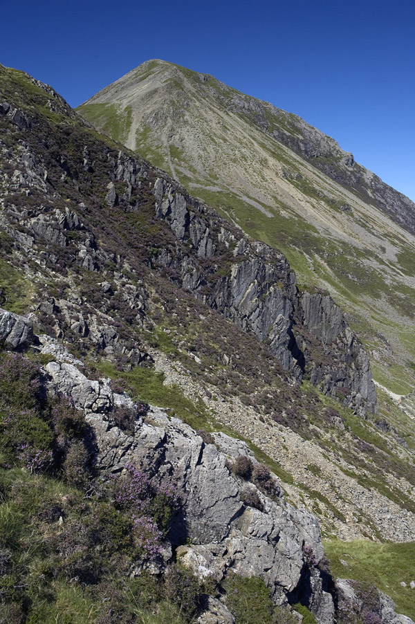 High Crag from the Scarth Gap path