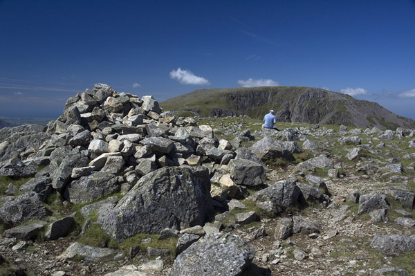 Summit of High Crag looking to High Stile