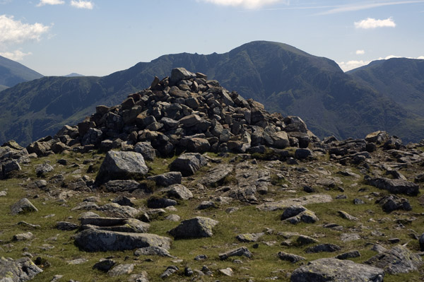 The summit of High Stile