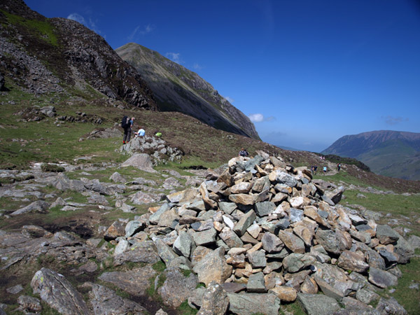 Cairn in Scarth Gap