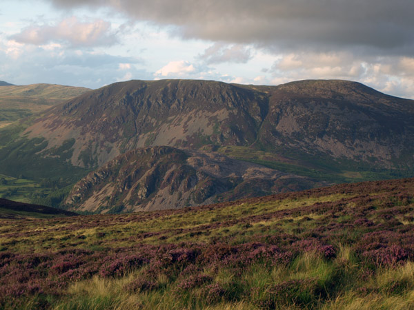 Evening view from the north side of Boathow Crag