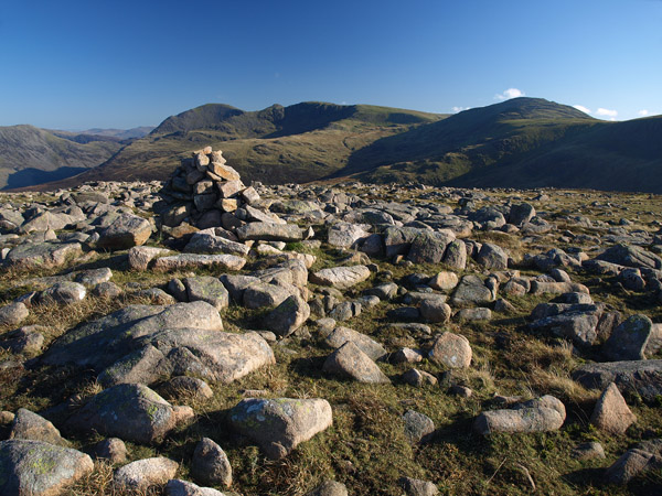 The summit of Iron Crag
