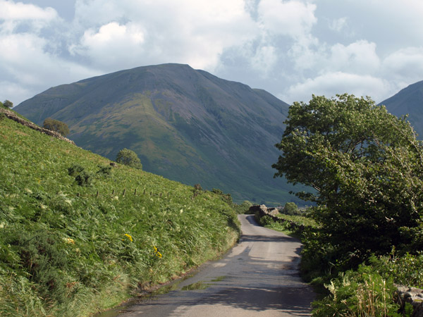 Kirk Fell from the road approaching Wasdale Head
