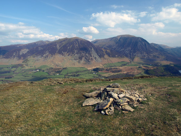 The summit of Low Fell