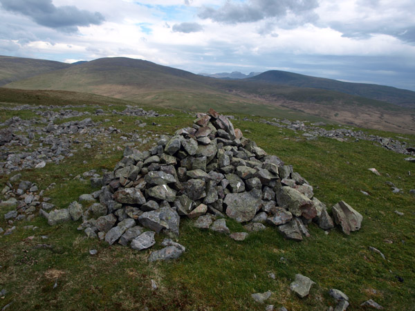 Cairn on ridge above Swarth Beck