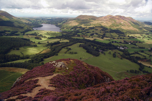 Loweswater from the north ridge