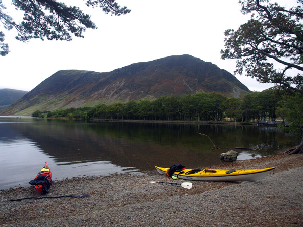Mellbreak form the outflow of Crummock Water