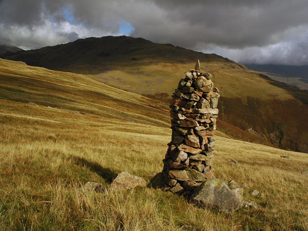 Middle Fell from Joss Naylor's cairn on Buckbarrow