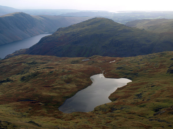 Middle Fell from Red Pike overlooking Low Tarn