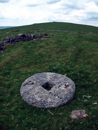 millstone on Eldon Hill