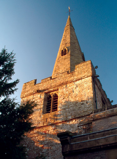 Spire of St John the Baptist, Chelmorton