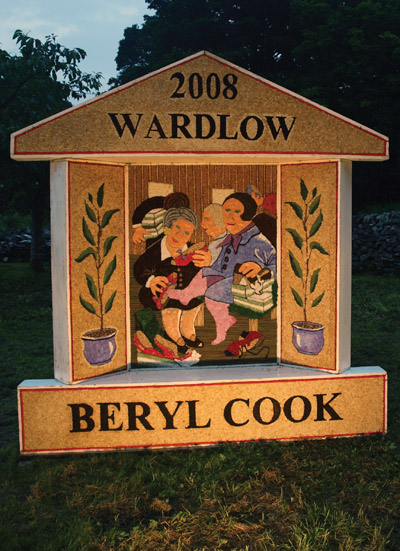 Wardlow well dressing