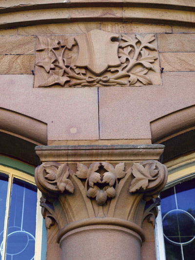 architectural detail Bakewell Old Station building