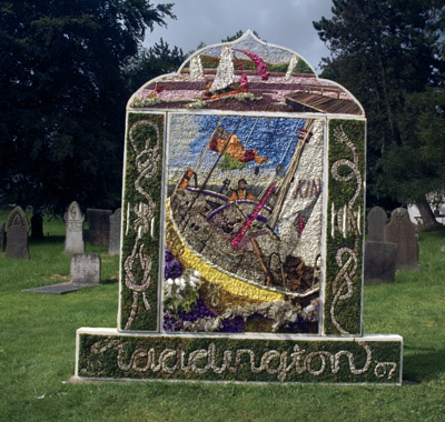 Taddington well dressing
