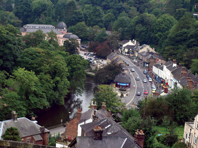 Matlock Bath from Holme Road