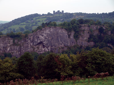 Riber Castle and High Tor